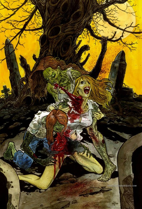 If You Say So >> Decay Zombie Artwork Cove- Zombie Artist Rob Sacchetto