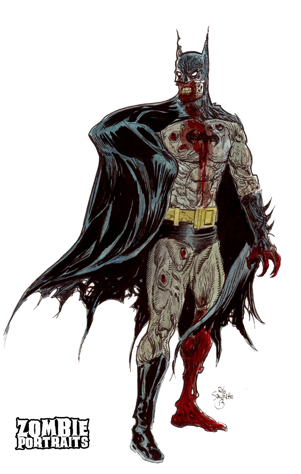 Zombie Batman : Zombie Super Hero Week Continues! - Zombie ...